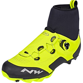 Northwave Raptor GTX Shoes Men Yellow Fluo/Black